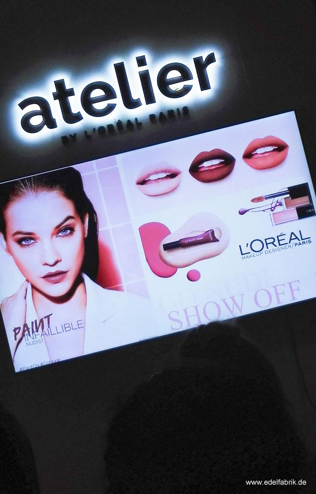 Neuheiten Lippe in der  L'Oréal Theke 2017