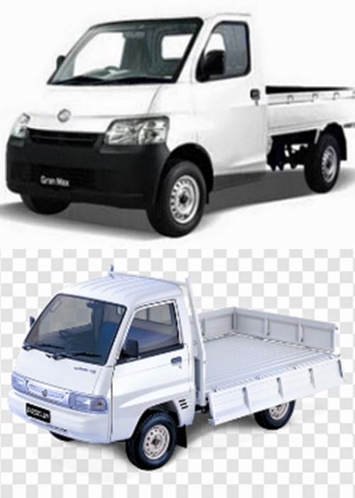 Komparasi Suzuki Carry 1,5L Dengan Daihatsu Granmax Pick Up 1,5L