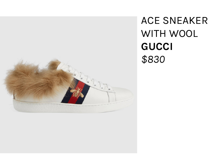 Fur Sneakers Luxury High End Fashion
