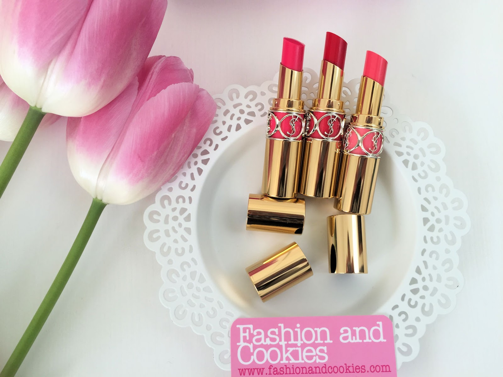 YSL Rouge Volupté Shine rossetto oil in stick review on Fashion and Cookies beauty blog, beauty blogger