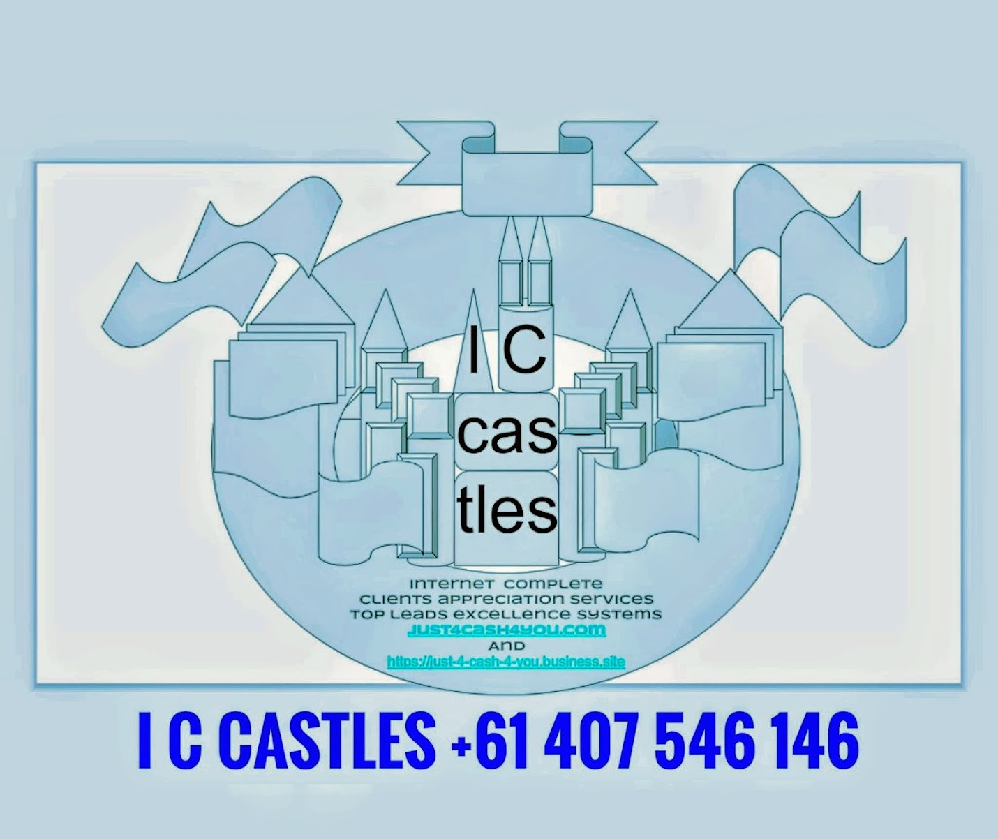 Iccastles plus J4C4U with G Suite by Google Cloud referrals.