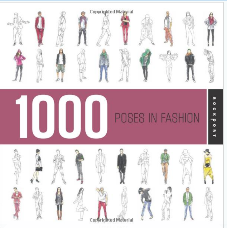 1000 Poses in Fashion By Chidy Wayne  cover page