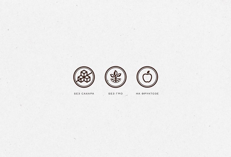 логотип и упаковка кондитерской продукции, Голицин