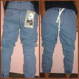 celana jogger jeans pria Cheap MOnday