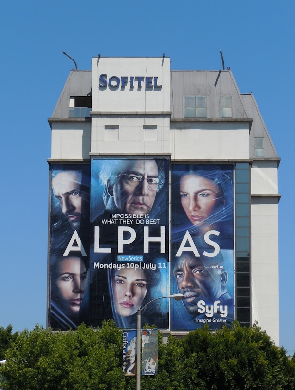 Giant Alphas Syfy TV billboard