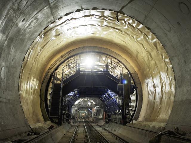 Maior túnel do mundo
