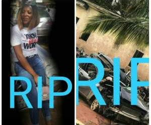 Female Student Dies In Fatal Accident With Boyfriend (Photos)