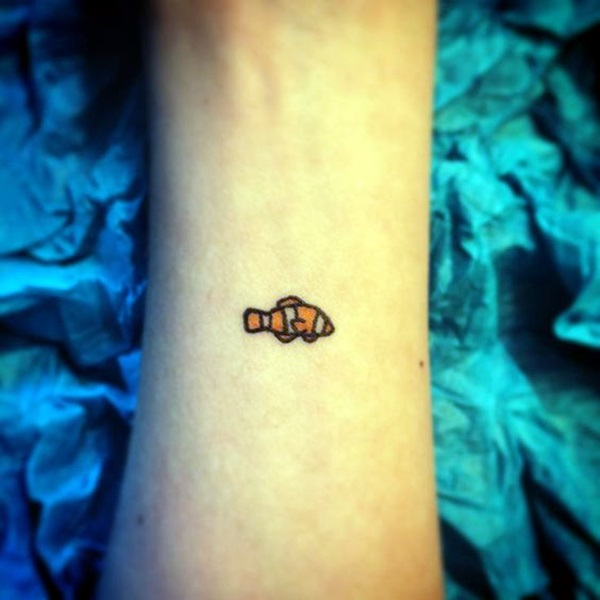 Tatuagens de peixes para as mulheres