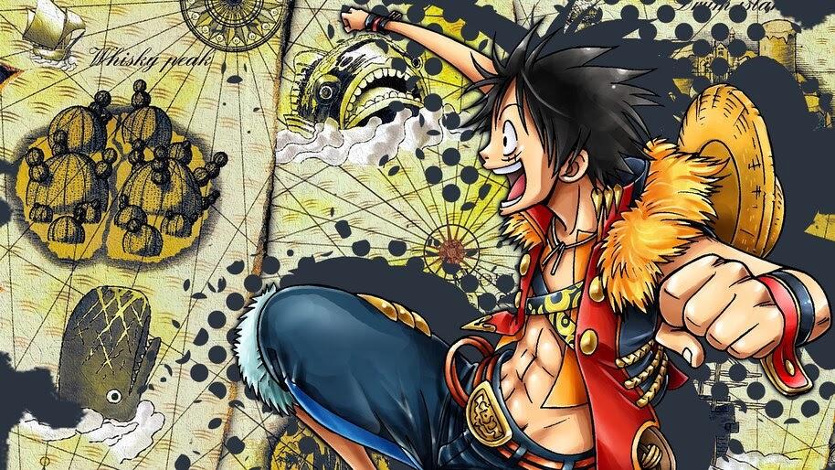 Luffy, One Piece, 4K, #6.120