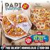 Domino's Pizza PAPI' Paket Pizza Duo & Trio HEMAT Hingga 42%