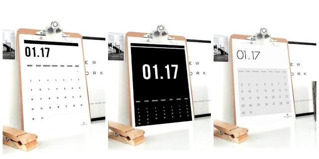 digital calendar, 2017 planner, digital planner, calendar, etsy, sacred and profane designs,