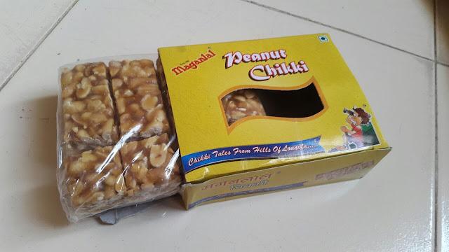 Maganlal Peanut Chikki