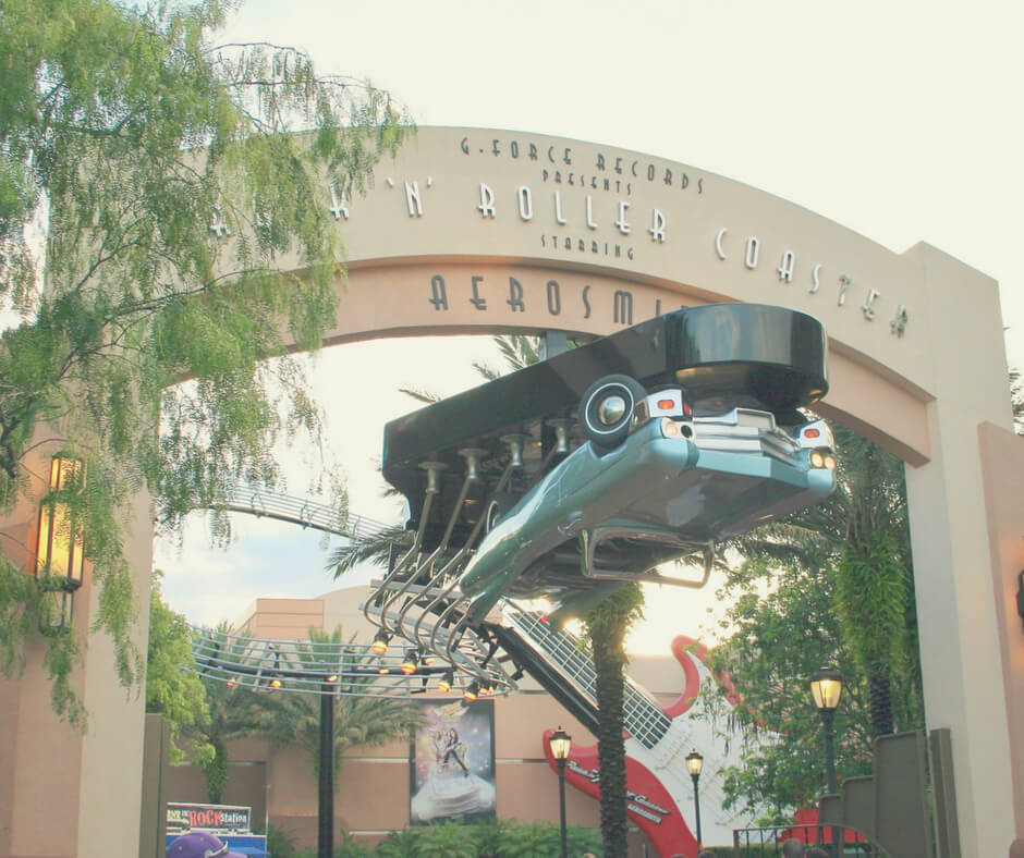 Rock 'n' Roller Coaster in Hollywood Studios, Walt Disney World
