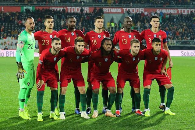 5f819a4bdd Seleção Nacional de Futebol - Portugal 1 vs Polónia 1 - A seleção  portuguesa de futebol