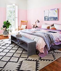decoração, casa, colorido, tapete.