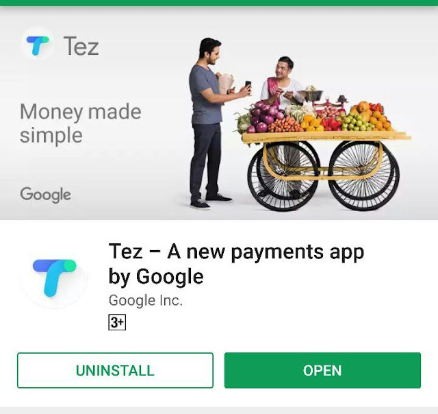 Download Google Tez App for Android and iOS Mobile – Refer & Earn Cashback Offers 51rs