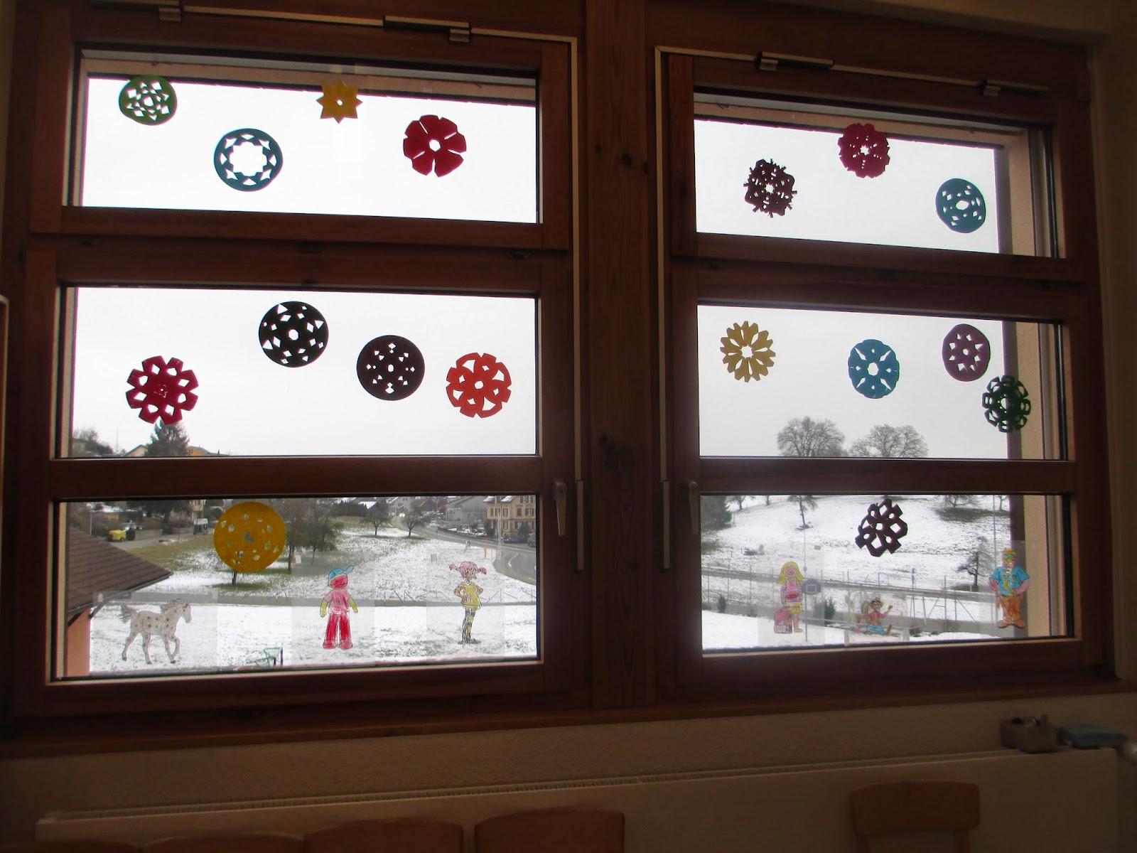 Wohnzimmerz Fensterdeko With Fensterdeko Im Herbst Basteln Ideen