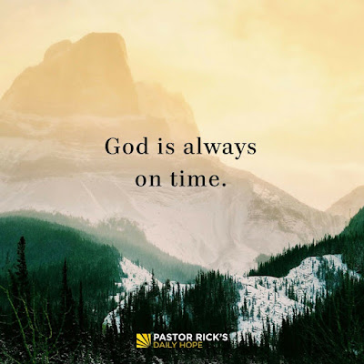 God Is Always on Time by Rick Warren