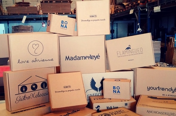 Packaging cajas para Ecommerce