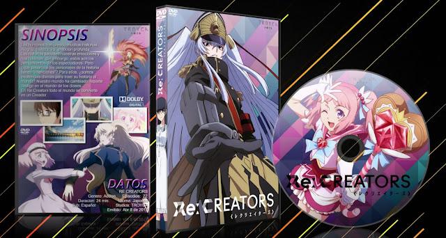 Re:Creators Ver.2 | Cover DVD |