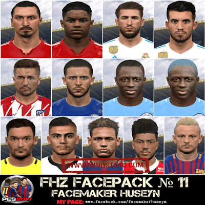 PES 2017 Big Facepack Season 2018