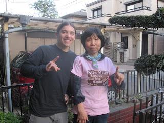 My Japanese teacher from Costa Rica!! Arigatou Sensei :)