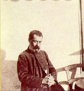 Ο Αλέξανδρος Παπαδιαμάντης στη Δεξαμενή το 1906