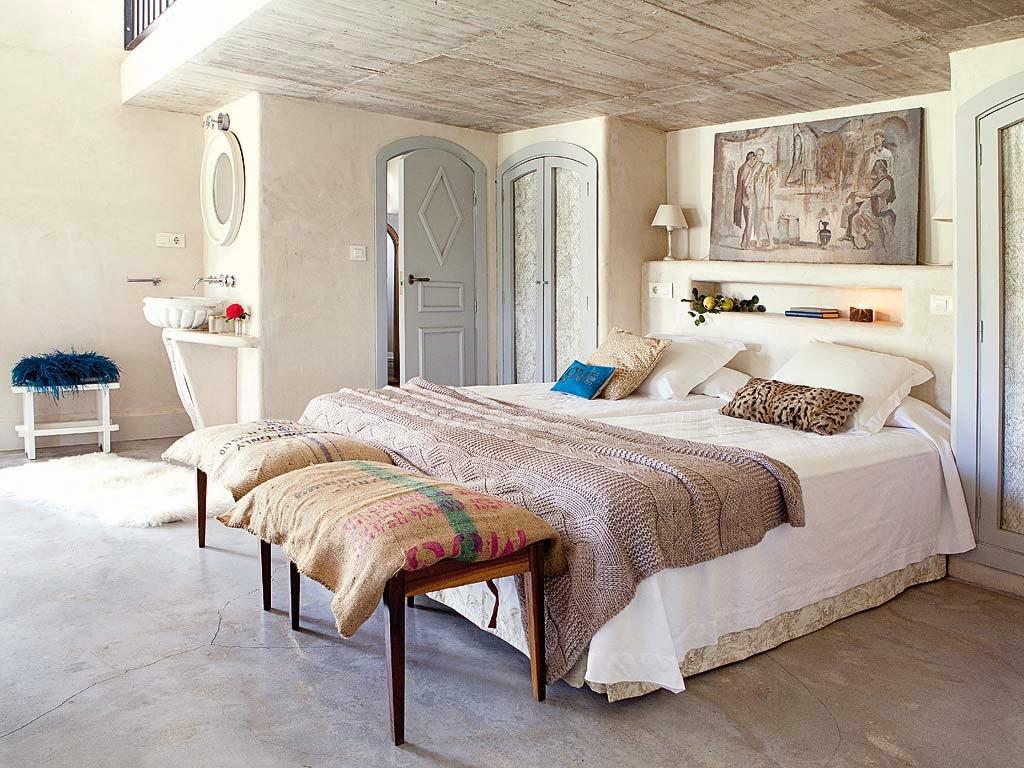 El blog de demarques decoracion provenzal en una casa de - Muebles casa de campo ...