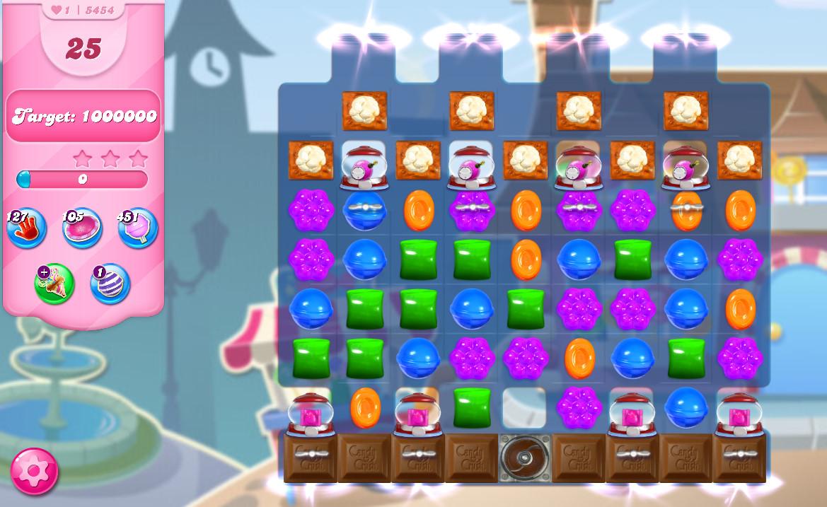 Candy Crush Saga level 5454