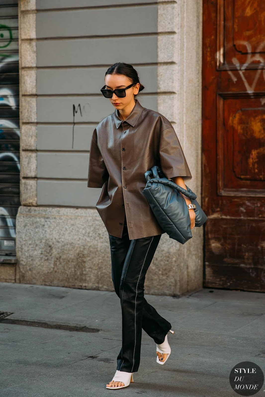 Sartorial Proof That A Leather Shirt Is a Fall Essential