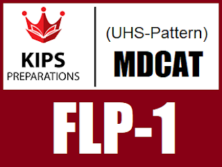 KIPS FLP-1 MCQs For MCAT (UHS Pattern) - EducatedZone
