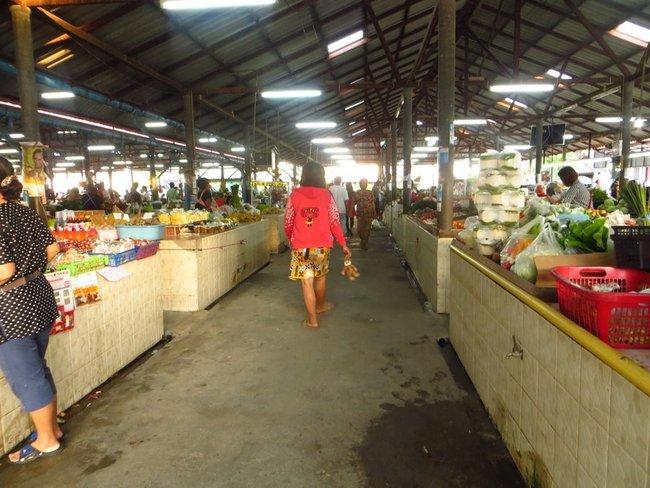 Рынок под крышей Маенам