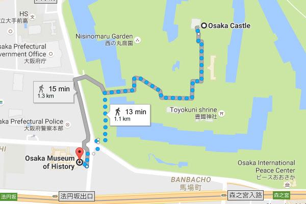 Osaka Castle Osakajo Osaka Japan Blue Moon Travel Blog Self