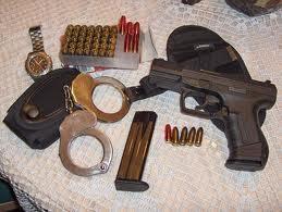 Armas para mantener la Ley y el Orden