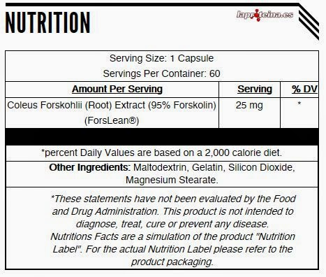 LaProteina.es - Analyzed Supplements Forskolin-95 60 Caps