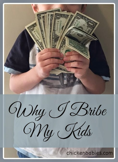 Bribing as a parenting tool