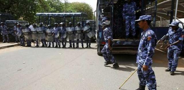 الشرطة السودانية صورة من الارشيف