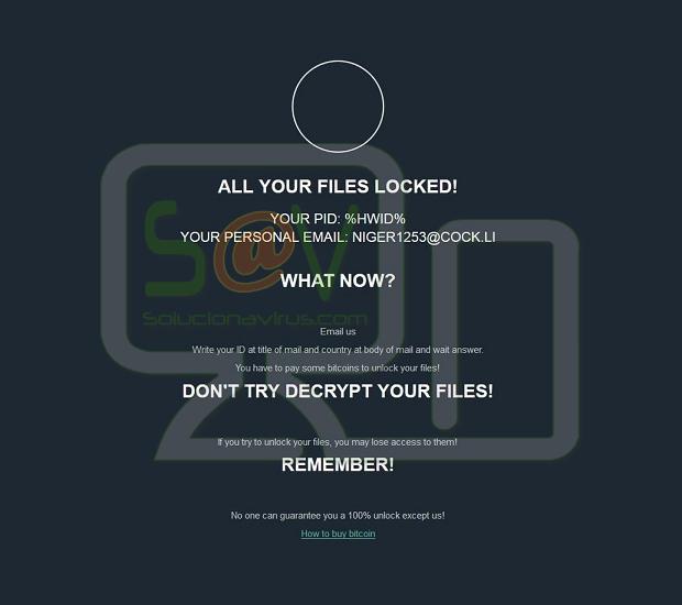 Remarkpaul77@cock.li Jsworm (Ransomware)