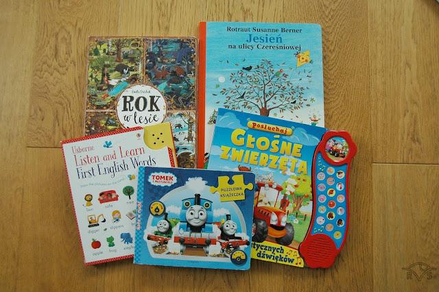 pięć ulubionych książek trzylatka