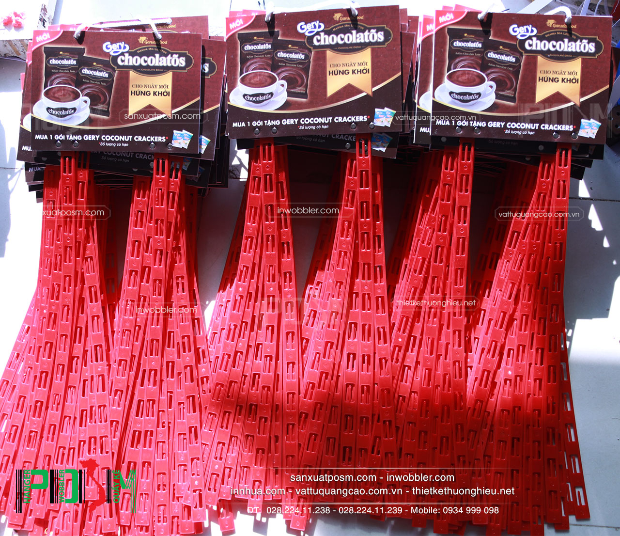 hanger dây nhựa