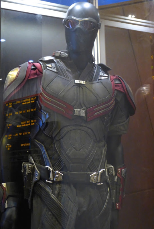 Falcon costume detail Captain America Civil War
