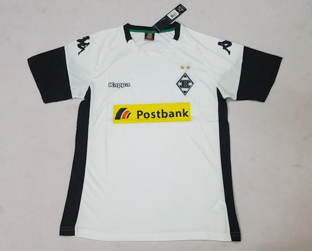 Borussia Mönchengladbach 17-18 Kappa Home Kit
