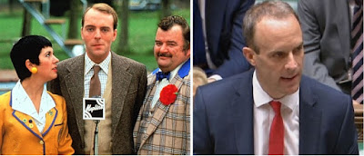 Does Dominic Raab look like Simon Cadell?