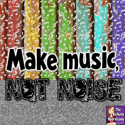 Make music, not noise.  -Tracy King