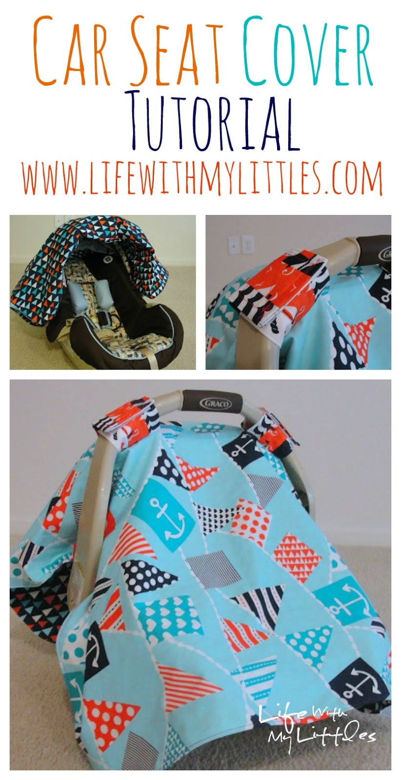 Car Seat Cover Tutorial - Life With My Littles