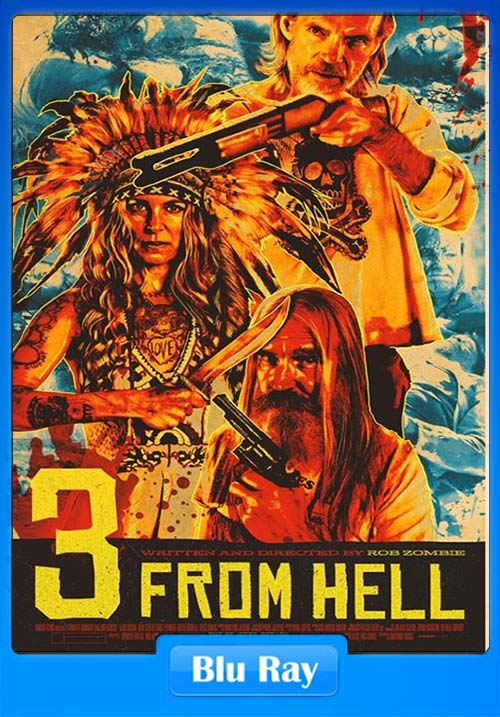3 from Hell 2019 UNRATED 720p BluRay x264 | 480p 300MB | 100MB HEVC
