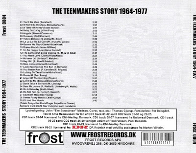 The Teenmakers - The Teenmakers Story (1964-1977) (2004 Denmark)