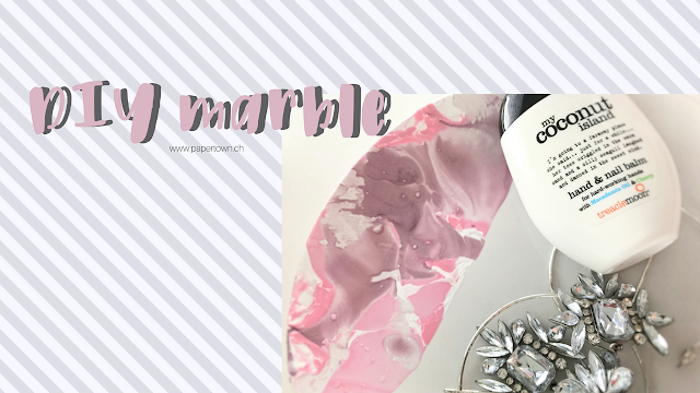 diy, marble, pink, papertown, swissblogger, switzerland,