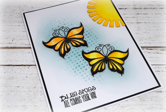 Handmade card by Julee Tilman. www.poeticartistry.blogspot.com
