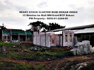 Nyari Rumah Murah Ready Stock dekat Kota Bekasi? Nih Rumah Cluster Minimalis
